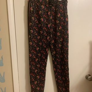 Floral & Glitter Track Pant